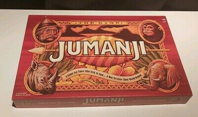 Jumanji 2018 Board Game 100% Complete/ Freepost Included