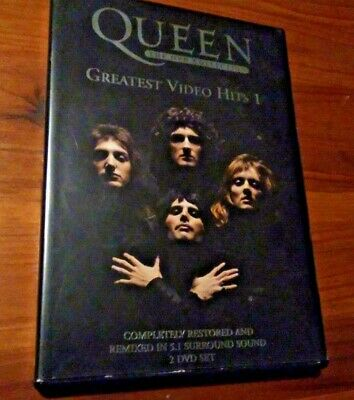 QUEEN - GREATEST VIDEO HITS 1 **2002 2x DVD BARGAIN!!!!**