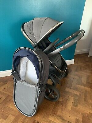 Icandy Peach 3 2016 Dusk/moonlight Comes With Carrycot & Toddler Seat Unit