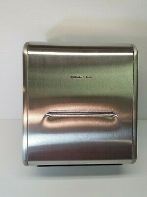 Kimberly-Clark Professional Recessed Stainless Steel Paper Towel Dispenser 31498