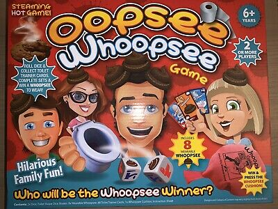 New Oopsee Whoopsee Family Board Funny Novelty Dice Game - Boxed Gift