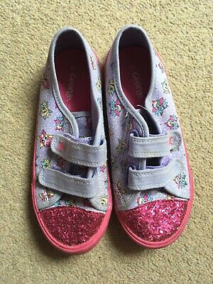 Girls, My Little Pony, Velcro Fastening, Glitter, shoes. Size 12
