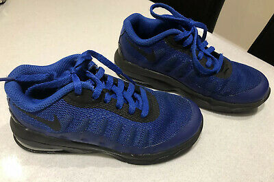 Nike Air Max Junior Boys Trainers. Blue. Size Uk 10