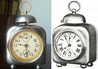 Japy Freres alarm clock from 1912 - antique french clock