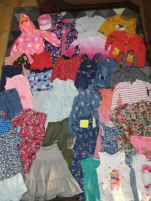 Huge Bundle Of Girls Clothes 2-3years #911 GEORGE NEXT F&F PRIMARK MINIONS