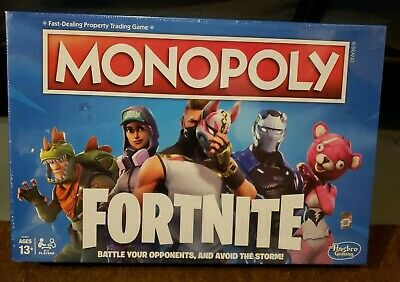 Monopoly: Fortnite Edition Board Game Inspired by Fortnite Video Game Ages 13 an