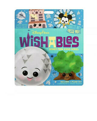 Disney Parks Wishables Mystery Plush Disney Park Icons Series Blind Bag