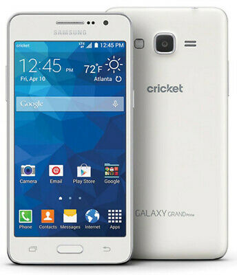 Samsung Galaxy Grand Prime | Grade B- | AT&T | White | 8 GB | 5 in Screen