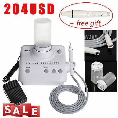 Dental Portable Ultrasonic Piezo Scaler for EMS Woodpecker + 1*handpiece N4*L