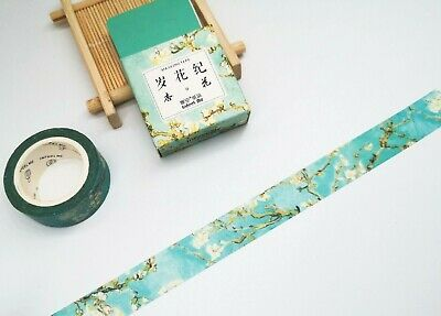 Japan Washi Tape Almond Bloosoms 15mmx7m  MT406