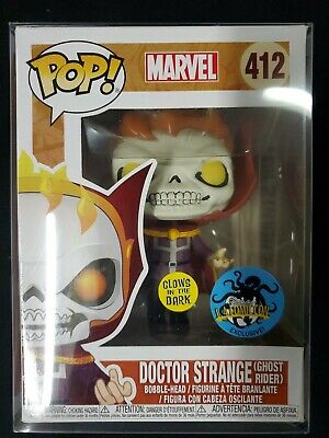 Funko Pop! Marvel Dr Strange (ghost rider) gitd Stan Lee LACC Exclusive SOLD OUT