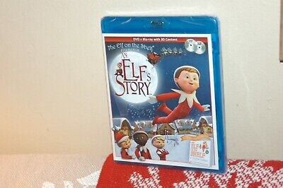 The Elf On The Shelf An Elf's Story Blu-Ray Brand NEW
