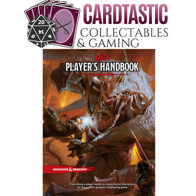 D&D Player's Handbook - Hard Cover 5th Edition Book - Dungeons & Dragons