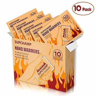 Supchamp Hand Warmers, Disposable Hand Pocket Glove Warmers, Up to 10 (10 Pack)