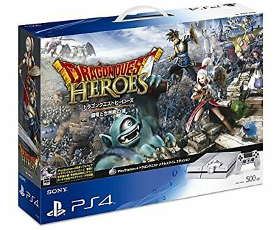 Sony PS4 PLAYSTATION 4 Spiel Konsole 500GB Dragon Quest Metall Slime Edition Ems