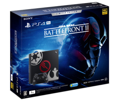 Sony PS4 PLAYSTATION 4 pro Star Wars Battlefront II Edición Limitada 1TB New Ems