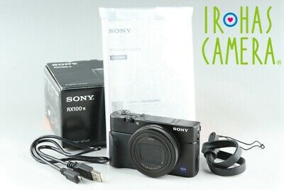Sony Cyber-Shot DSC-RX100M6 Digital Camera With Box *JP Language Only* #25709