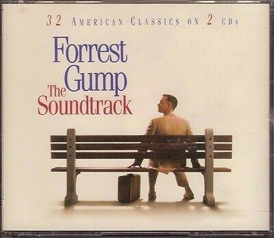 Forrest Gump Soundtrack 1994 Epic 2Cd Big Double Jewel Case 32 Songs