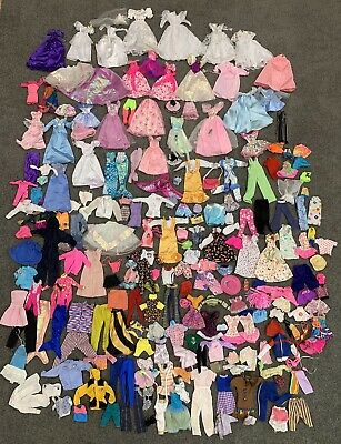 Bulk Listing Of Barbie Doll And Dolls Clothes - Over 200 Items
