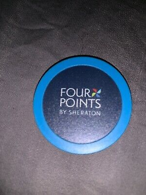 Four Points By Sheraton 2015 Promo Poker Chip -Hotel