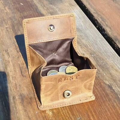 Chase - Compact Buffalo Leather Coin Pouch