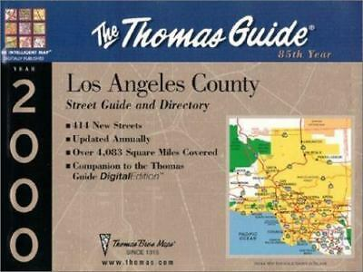 Thomas Guide 2000 Los Angles County: Street Guide and Directory, , Thomas Bros.