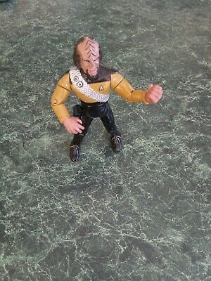 Star Trek Next Generation Worf Action Figure Loose  - No Weapons