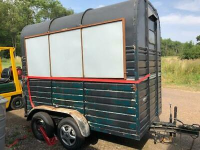 Rice Horse trailer -  Part Converted to Bar/Food Trailer