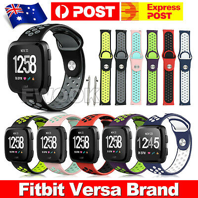 Fitbit Versa Band Replacement Band Wristband Soft Silicone Sport Band Strap New