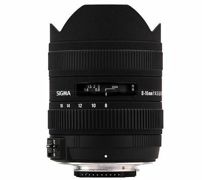 Sigma EX 8-16mm F/4.5-5.6 HSM DC Lens for CANON EOS