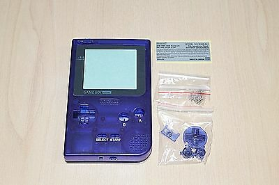 Midnight Blue Gameboy Pocket New Shell Replacement Housing Case  Nintendo
