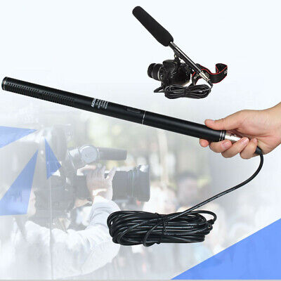 Professional Condenser Shotgun Microphone Mic For DSLR Camera Video Camcorder A+