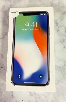Apple iPhone X - 64GB - Silver (AT&T) A1901 (GSM) #11267