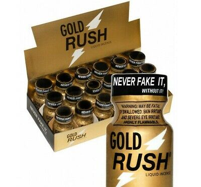 POPPERS RUSH  GOLD bouteille 10 ML stimulant libido gay hetero fr