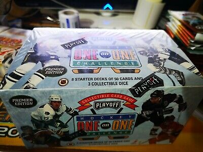 Hockey One on One Challenge Collectible Cards NUOVO SIGILLATO