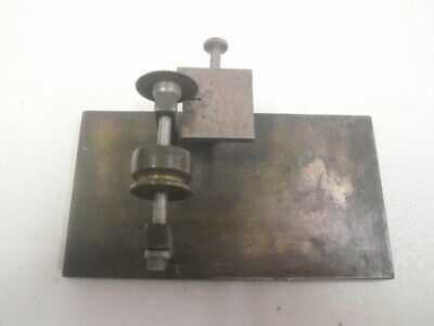 Rare Antique Cutting Saw Tool Wrist Watch Watchmakers Jewelers Lathe See Picture