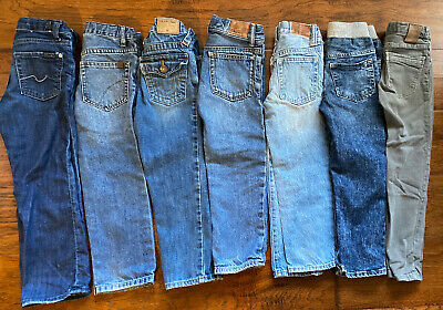 Boys Seven Joe's True Religion Zara Gap Lot Skinny Jeans 5T