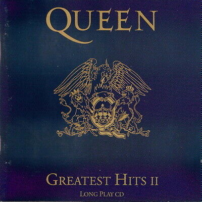 Queen Greatest Hits II (Kind Of Magic, One Vision) 1984 CD EMI