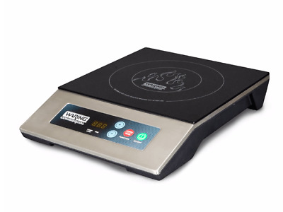 Waring WIH200 Countertop Commercial Induction Cooktop w/ (1) Burner, 120v