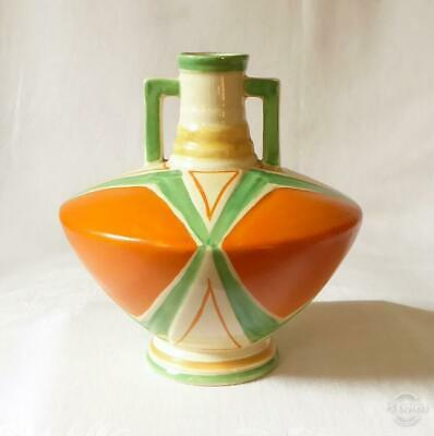 Good Sized Antique Early 20Th Century Art Deco Conical Shaped Vase