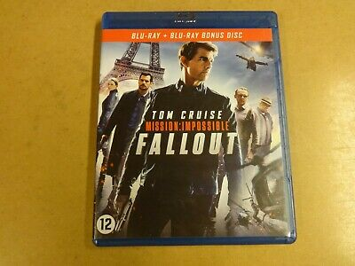 2-Disc Blu-Ray / Mission : Impossible - Fallout ( Tom Cruise )