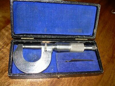 "VINTAGE MICROMETER 1"" Outside Made in GERMANY"