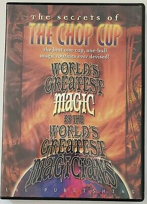 2007 The Chop Cup Trick By Worlds Greatest Magicians Tricks Instructional DVD