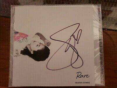 Selena Gomez - Rare - SIGNED CD ALBUM - SOLD OUT - In Hand