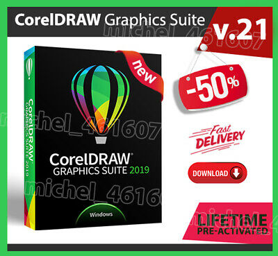 CorelDRAW Graphics Suite 2019 🔥 Fast Delivery 📥 Lifetime Activated 🔑 WINDOWS