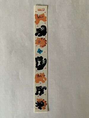 Rare Vintage Stickers - Cardesign -Toots KittenS Dated 1983