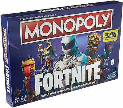 Monopoly: Fortnite Edition Board Game Newest Edition  27 New Characters   SEALED