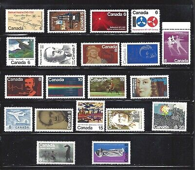 Canada 100 DIFFERENT SCOTT 288/51 MINT NH (SEE 3 PICTURES) (BS14732)