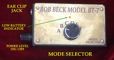 BOB BECK  BT-7   6 mode device. two Year Warranty . 9 Volt battery powered Model