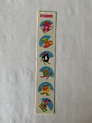 Rare Vintage Stickers - Cardesign - Slalom dated 1983